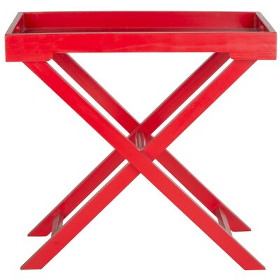Oak Hill Accent Table Finish: Hot Red