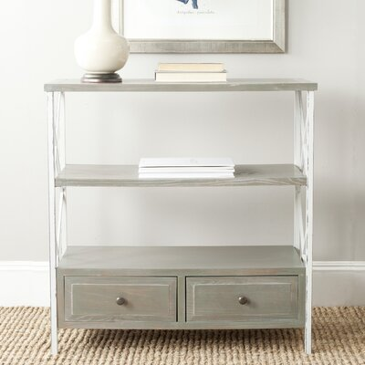 North De Land Console Table Color: French Gray/White Smoke