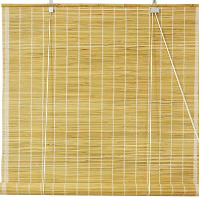 Matchstick Roll-Up Shade Size: 24 W x 72 L