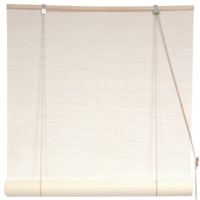 Bamboo Rayon Roll-Up Shade Size: 48 W x 72 L