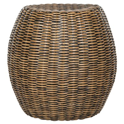 Mousoulita End Table Finish: Brown