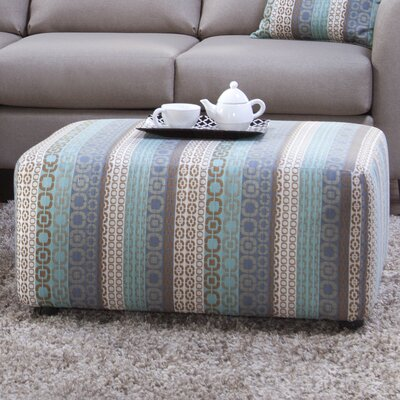 Shadowbrook Upholstery Sandcliff Ottoman Color: Gray