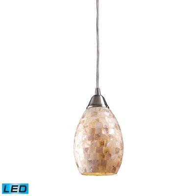 Roehampton 1-Light Mini Pendant Bulb Type: LED