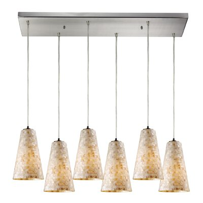Roehampton 6-Light Kitchen Island Pendant