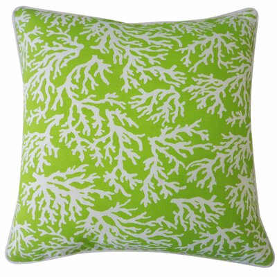 Jackson Outdoor Throw Pillow Color: Green