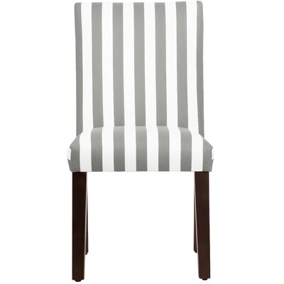 Woodland Parsons Chair Upholstery: Storm & Twill
