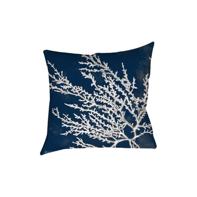Beaconsdale Coral Throw Pillow Size: 18 H x 18 W x 5 D