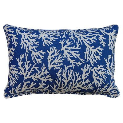 Bay Pines Corded Lumbar Pillow Color: Atlantic