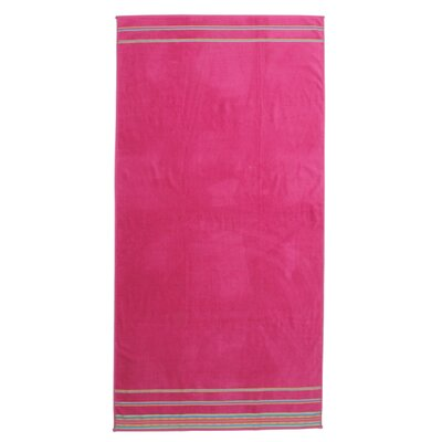 Jumbo Beach Towel Color: Fuchsia