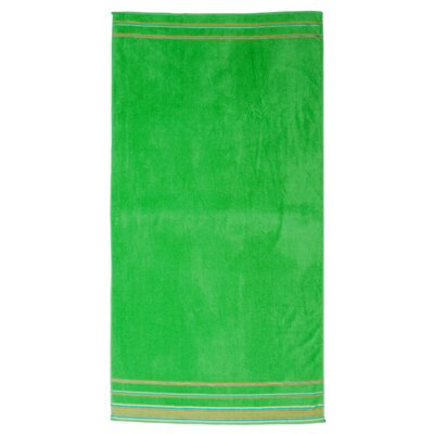 Jumbo Beach Towel Color: Green