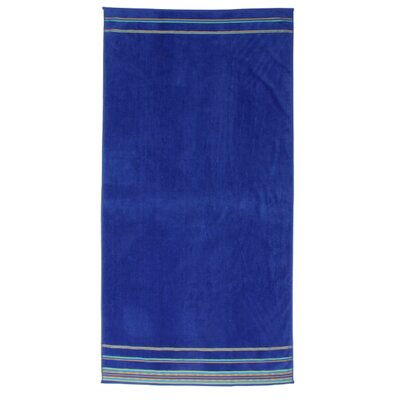 Jumbo Beach Towel Color: Cobalt Blue