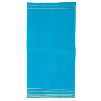 Jumbo Beach Towel Color: Turquoise