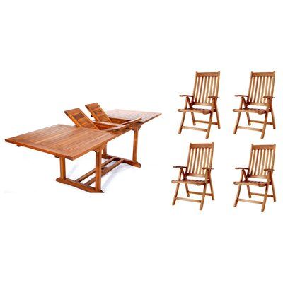 Design Knock Down Dining Set Product Photo