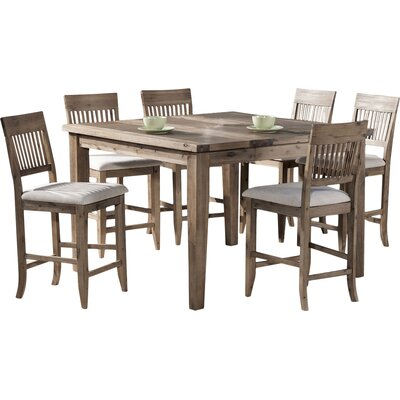 Centralia 7 Piece Wood Dining Set