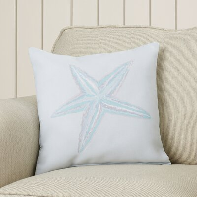 Rajashri Square Throw Pillow Size: 26 H x 26 W, Color: Aqua / Aqua