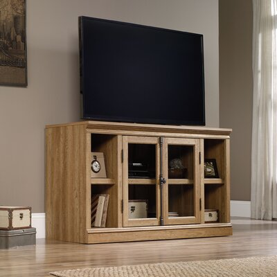 Bowerbank 57 TV Stand Color: Scribed Oak