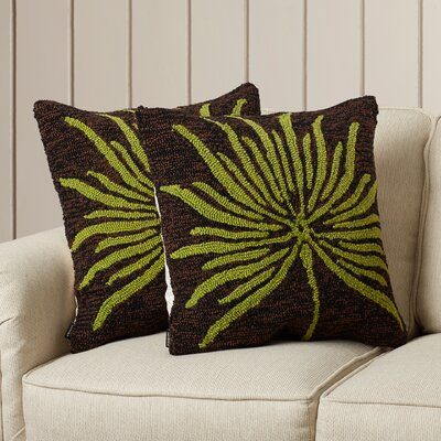 Silkleaf Verte Polypropelene Indoor Outdoor Pillow
