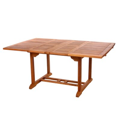 Humphrey Extension Wood Dining Table
