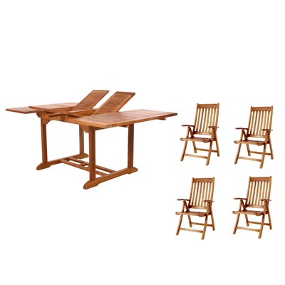 Humphrey Extension 5 Piece Dining Set
