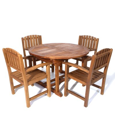 Humphrey Traditional 5 Piece Dining Set