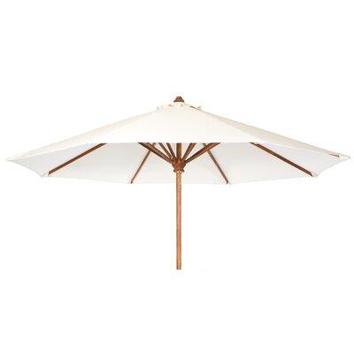 10 Humphrey Market Umbrella Fabric: White