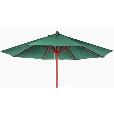 10 Humphrey Market Umbrella Fabric: Green