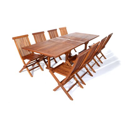 Humphrey 9 Piece Dining Table Set