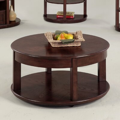 Wilhoite Castered Round Coffee Table