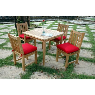 Farnam 5 Piece Square Dining Set