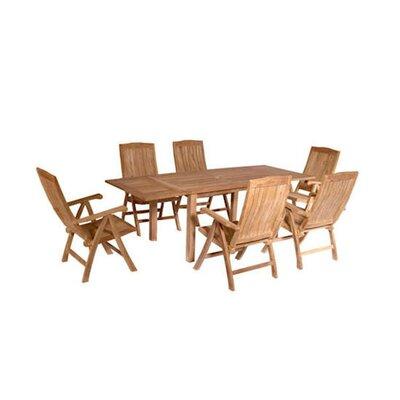 Farnam 7 Piece Extension Table Set
