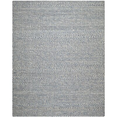 Abrielle Natural Fiber Blue/Ivory Indoor Area Rug Rug Size: 8 x 10
