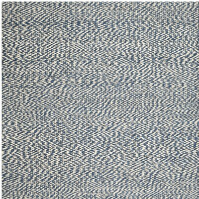 Abrielle Natural Fiber Hand-Woven Blue/Ivory Indoor Area Rug Rug Size: Square 4