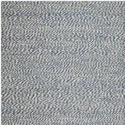 Abrielle Natural Fiber Blue/Ivory Indoor Area Rug Rug Size: Square 4