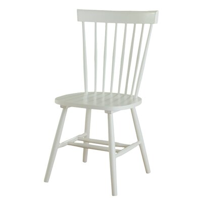 Hampton Side Chair Finish: White