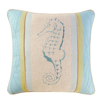 Somerset Embroidery Cotton Throw Pillow
