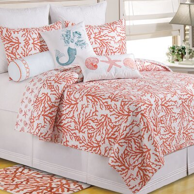 Bluffton Cotton Quilt Size: King