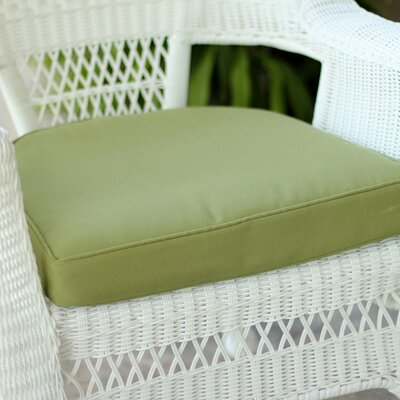Lounge Outdoor Chair Cushion Color: Green
