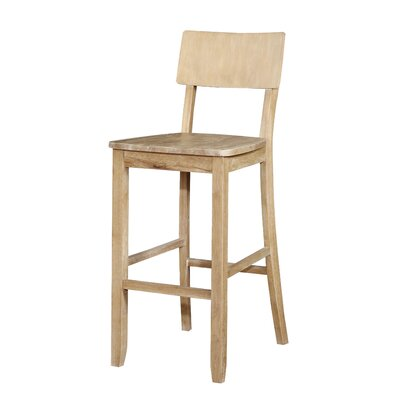 Bonifay 30 Bar Stool Finish: Natural