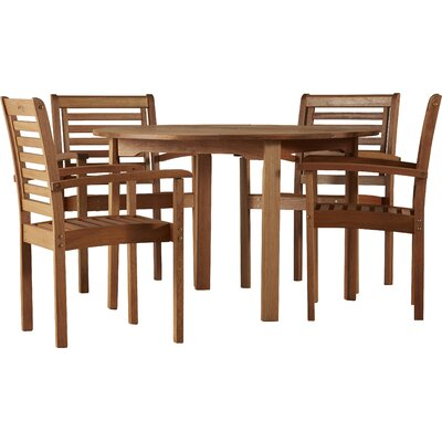 Elsmere Milano 5 Piece Dining Set