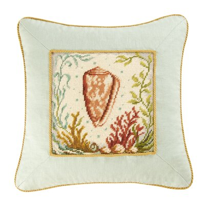 Somerset Cone Shell Wool Throw Pillow