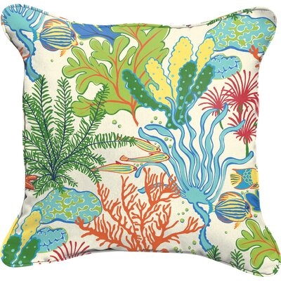 Evadne Indoor/Outdoor Throw Pillow Size: 18 H x 18 W