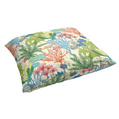 Evadne Corded Indoor/Outdoor Floor Pillow
