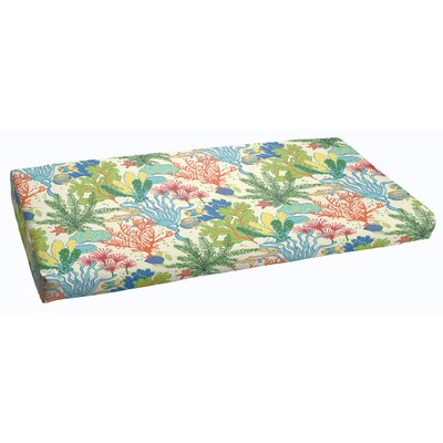 Bronson Outdoor Bench Cushion Size: 48 x 19