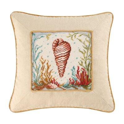Somerset Tulip Shell Throw Pillow