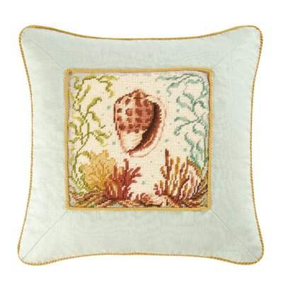 Somerset Conch Shell Throw Pillow