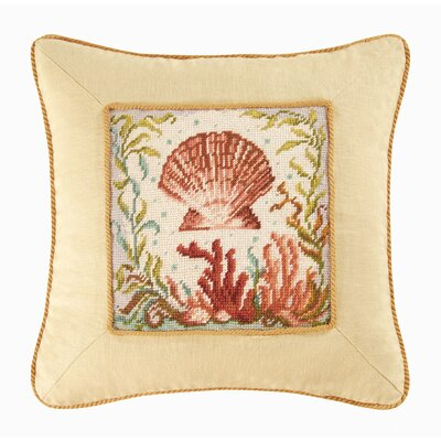 Somerset Scallop Shell Throw Pillow