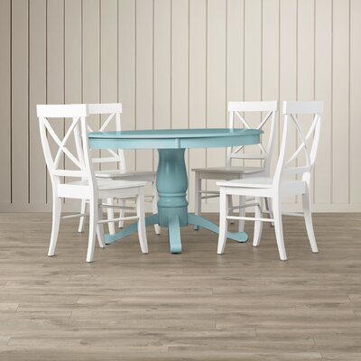 compare stock island 5 piece pedestal dining set with relate