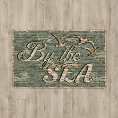 Banbridge Teal By the Sea Area Rug