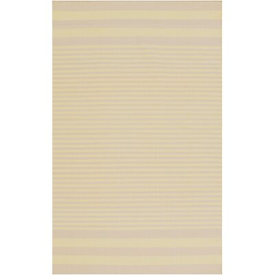 Kinslee Lime/Beige Area Rug Rug Size: Rectangle 8 x 11