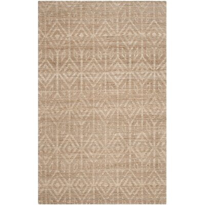 Mora Camel Area Rug Rug Size: Rectangle 4 x 6